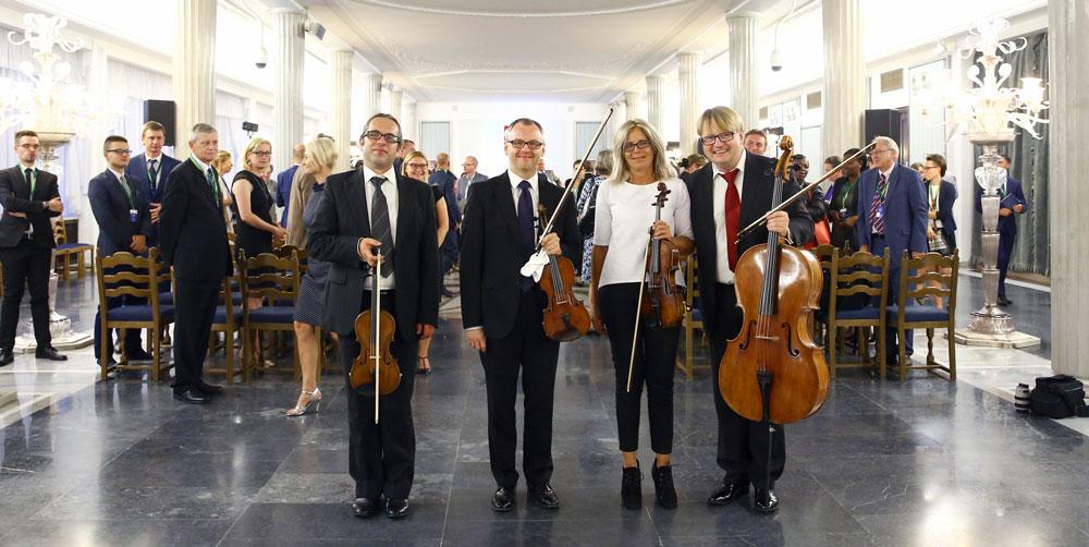 Koncert w Sali Kolumnowej w Sejmie RP
